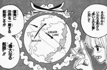 ワンピース世界の地理