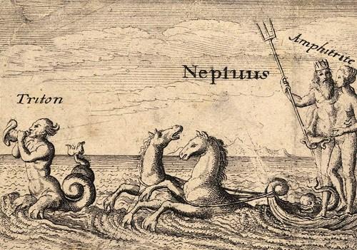 海神トリートーンとポセイドン