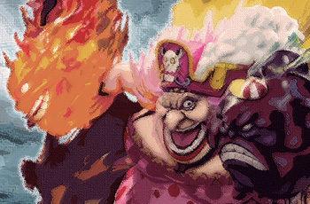 【ワンピース】ハーフ&ハーフ!?ビッグマムとカルメルのソルソルの実伝達の謎を考察