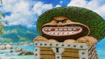 箱男ガイモンとひとつなぎの大秘宝