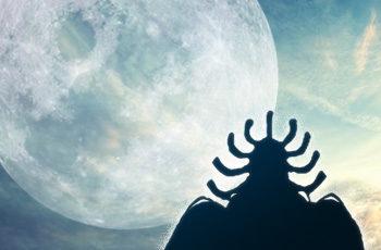 【ワンピース】月の人は青色の星で何を?ゲダツの扉絵が明かす月の古代文明考察