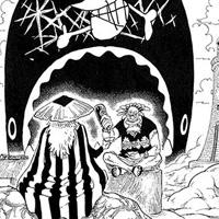 扉絵考察:双子岬クロッカスと後ろ姿の人物