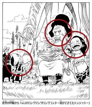 トンジット扉絵と古代兵器ウラヌス